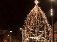 Juletræstænding på Klostertorvet
