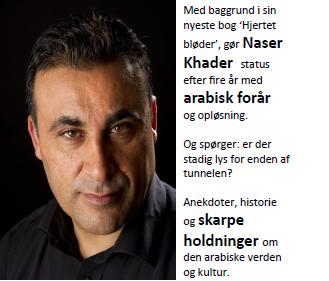 Naser Khader holder foredrag
