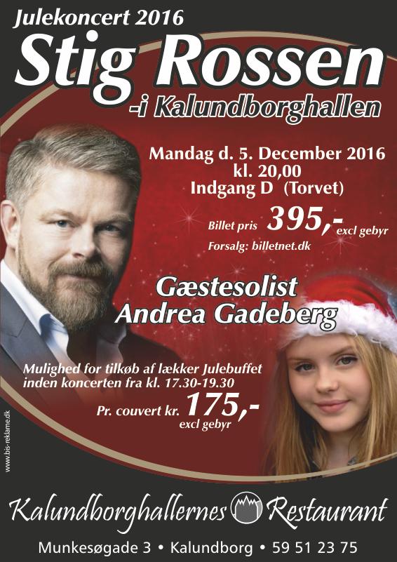 Syng julen ind med Stig Rossen