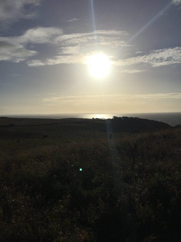 Sol over Røsnæs