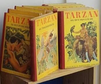 Tarzan i ny serie