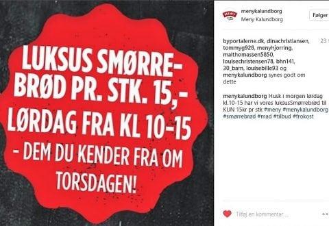 Foto: @menykalundborg