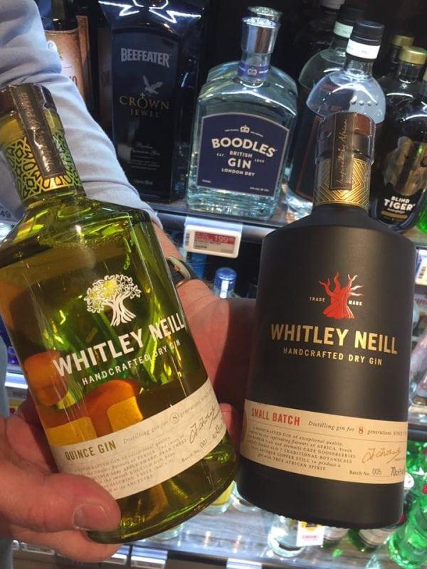 To nye gins