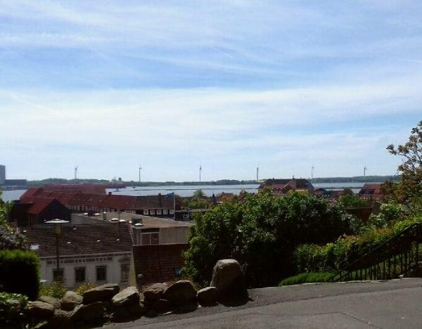 Sommer over Kalundborg
