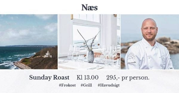 Sunday ROAST på restaurant NAES