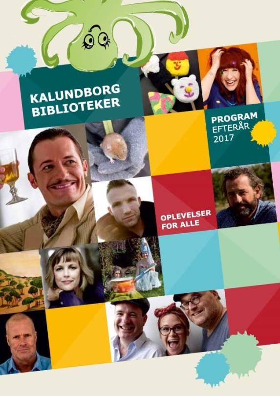Release-fest for Kalundborg Bibliotekers efterårskatalog