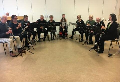 Foto: Midtfyns Klarinetorkester