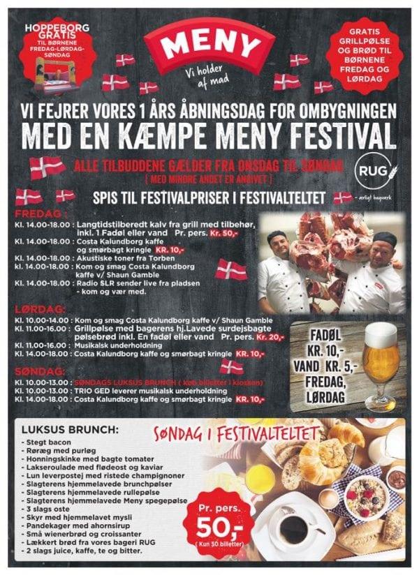 Kom til kæmpe festival i MENY