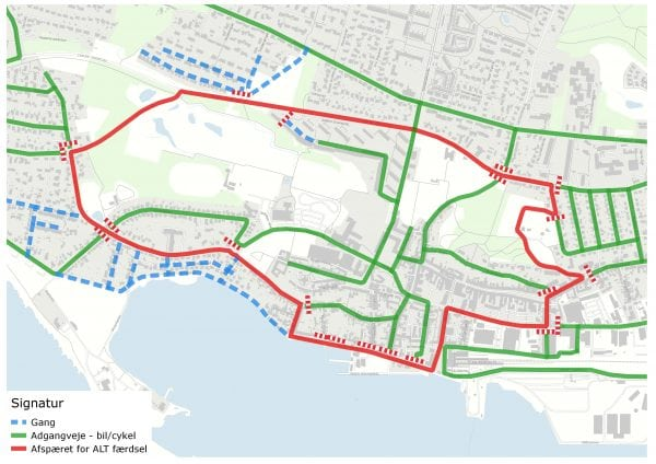 Trafikændringer i Kalundborg under PostNord Danmark Rundt
