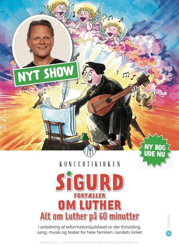 Sigurd Barrett - Alt om Luther