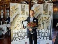 Peter Egebæk modtog Danish Retail Award 2017. Foto: Carsten Lundager
