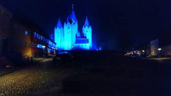 Kalundborg i blåt
