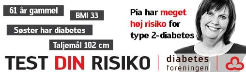 Over 700 i Kalundborg har type 2-diabetes uden at vide de
