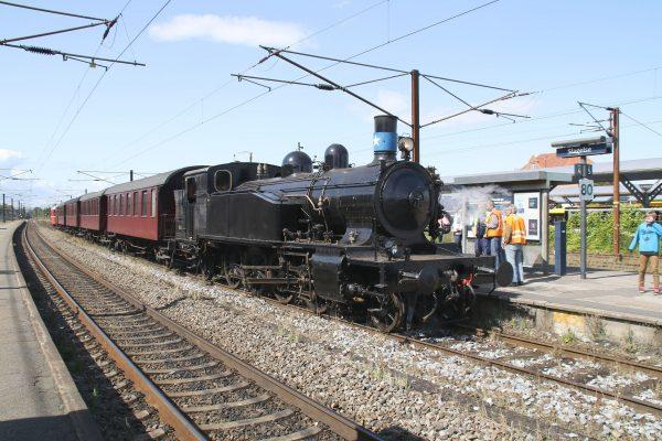 Damplokomotivet er atter køreklar