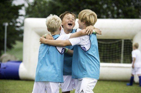 Fodboldglæde i sommerferien