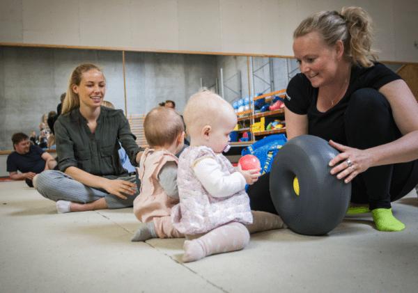 Gymnastik til familierne i Kalundborg