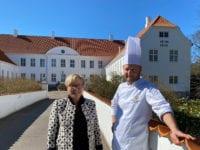 Birgitte Dinesen og Frank. Pressefoto.