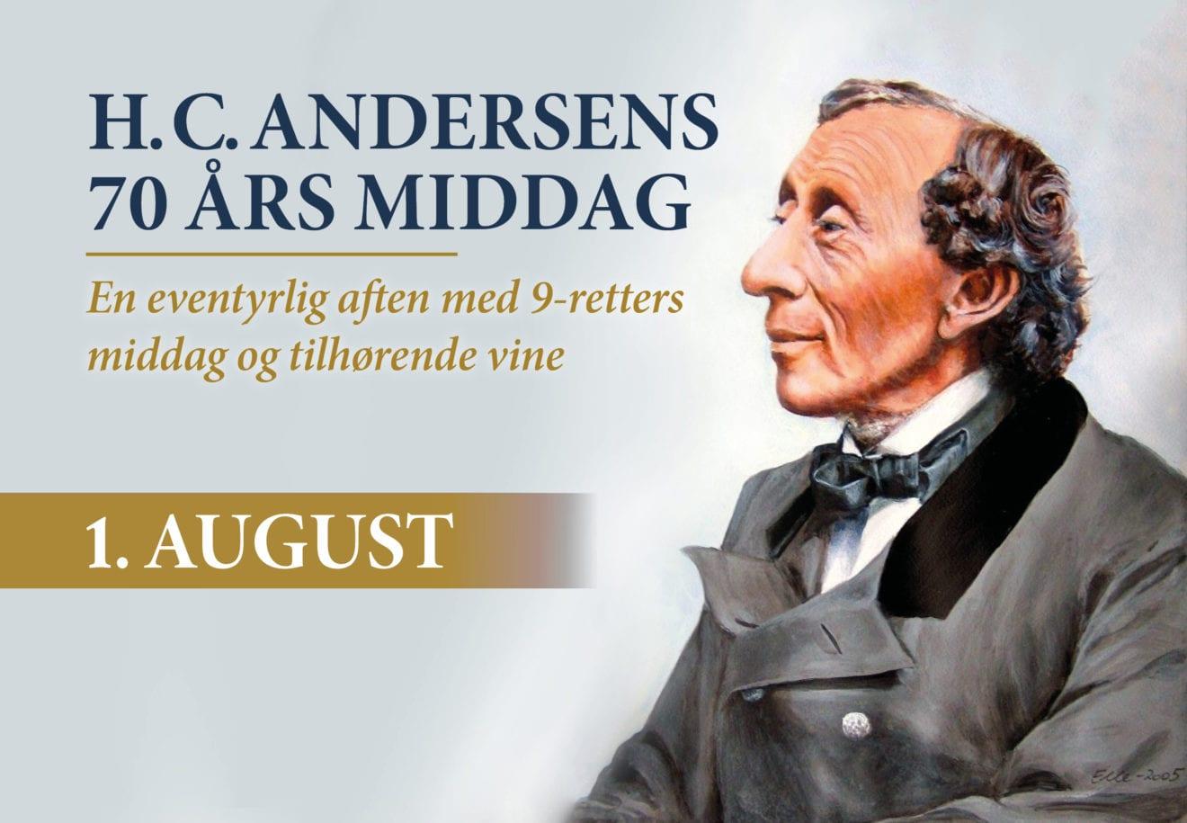 H.C. Andersens fødselsdag genskabes på Kragerup Gods