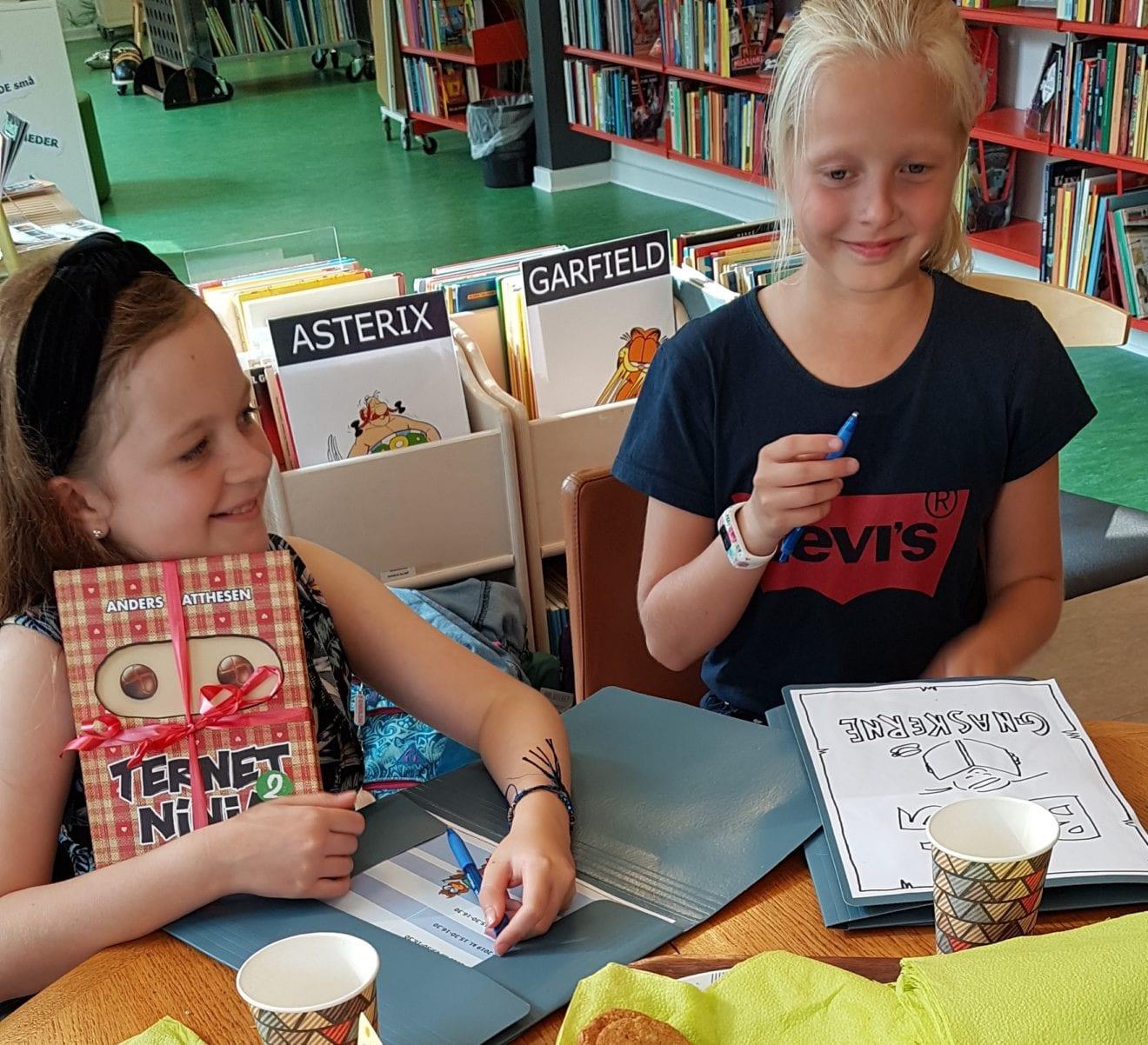 Bogklubber for børn på biblioteket
