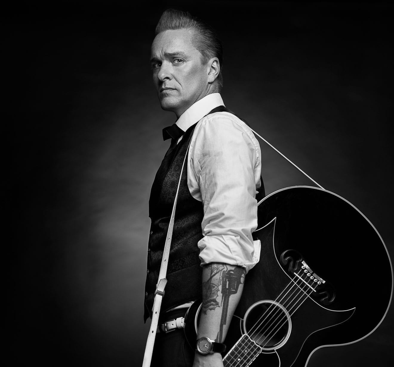 Koncertforedrag i Jorløse om Johnny Cash