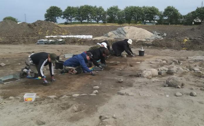 Åbent hus på arkæologisk udgravning