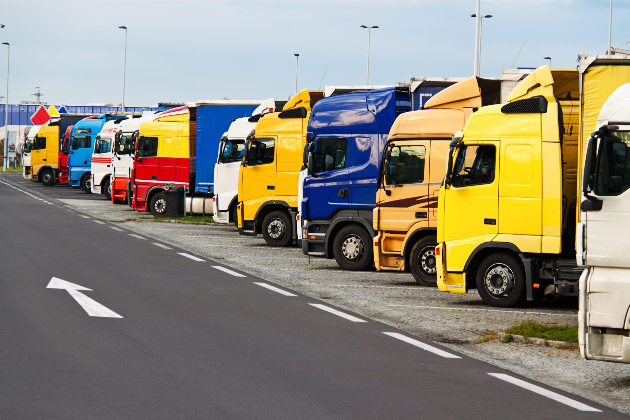 Familiedag i Ubby - Lastbiler, store biler og maskiner