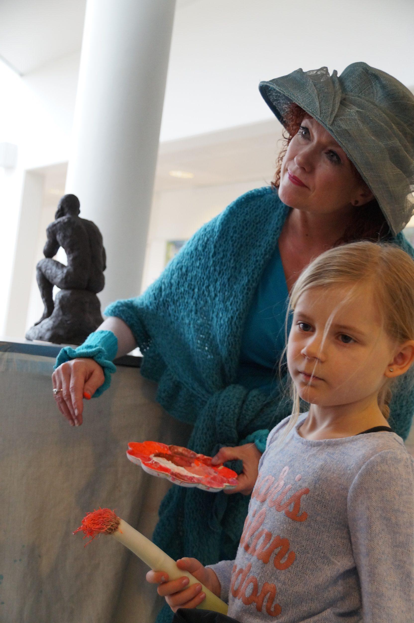 Kom og vær med i 'Dittes Kunstklub for børn'
