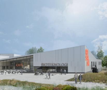 Nyt campus på Stejlhøj